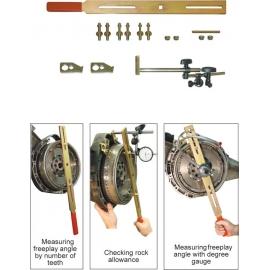 Комплект за тестване износването на двумасови маховици | ZIMBER TOOLS