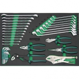 Инструменти ключове и клещи 34 бр. | JONNESWAY