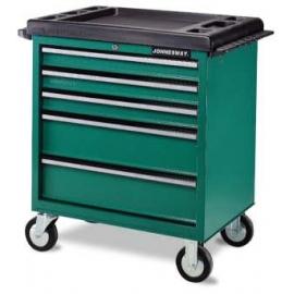 Инструментална количка с 5 чекмеджета | JONNESWAY