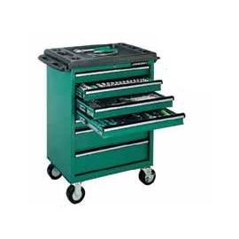 Инструментална количка 7 чекмеджета - оборудвана | JONNESWAY