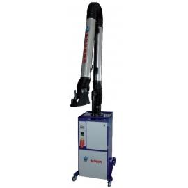 Мобилна аспирационна с-ма за изсмукване на заваръчни газове | FILCAR