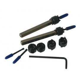 Инструменти за почистване на точкова заварка к-т | ZIMBER TOOLS