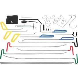 Инструменти за изправяне на вдлъбнатини, малки дефекти, градушки и др. 33 части к-т | ZIMBER TOOLS