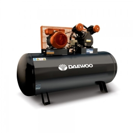 Компресор бутален 2.0HP 1.5 kW 200л. ремъчен | DAEWOO