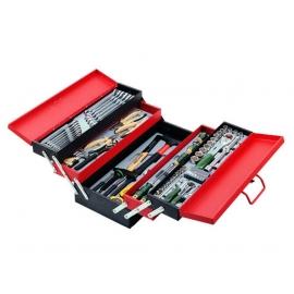 Инструментална кутия 5 отделения комплект със 101 части | FORCE Tools