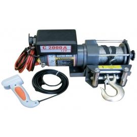Лебедка електрическа 12V 2000 lbs STANDART | WARRIOR WINCHES
