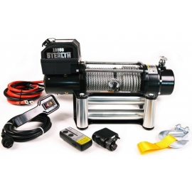 Лебедка електрическа 12V 13000 lbs STEALTH | WARRIOR WINCHES