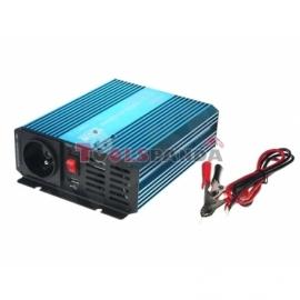 Преобразувател на ток от 12 / 230V + USB, 400W