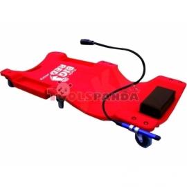 Монтьорска лежанка мобилна с лампа | AUTOKELLY