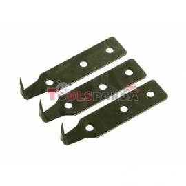 Ножчета за демонтиране на автомобилни стъкла 25мм. 3 броя к-т