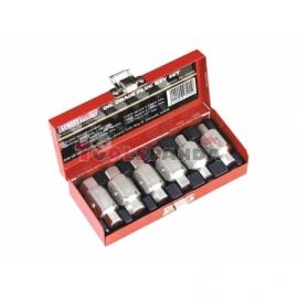 Накрайници за пробката на маслото, комплект 6 броя, 2 края | SEALEY