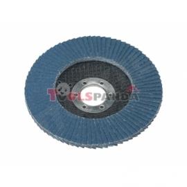 Диск за шкурене ламелен циркониев ø115мм. х 22.2 mm, 80P | SEALEY