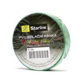 Лента лепяща изолация PVC - зелена | STARLINE