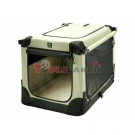 Транспортна кутия за кучета MAELSON бежова XXL | UNKNOWN