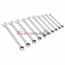 Ключове гаечни с тресчотка комбинирани 10 броя дълги | SEALEY