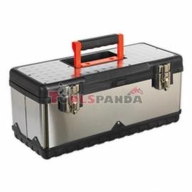 Кутия за инструменти, неръждаема стомана, размери: 505 x245x225 | SEALEY