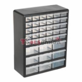 Секция с 39 чекмеджета, 375x163x470мм. | SEALEY