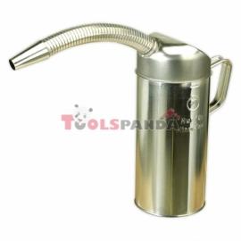 Лейка за масло метална 2 литра с гъвкава фуния | SEALEY