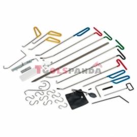Инструменти за изправяне на огъвания и вдлъбнатини без повреждане на боята 33 броя | SEALEY