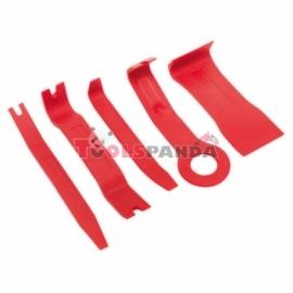 Комплект инструмент за премахване на щипки и тапицерии 5 бр | SEALEY
