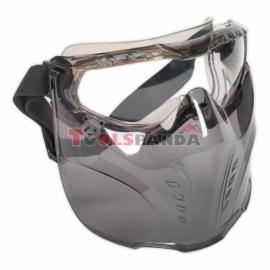 Очила предпазни с маска | SEALEY
