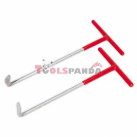 Инструмент за рязане на изпускателна тръба с тресчотка 2 броя | SEALEY