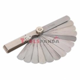 Пластини за регулиране на хлабини 0.06 - 0.7 mm, 15бр. | SEALEY