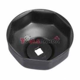 Ключ-капачка за маслен филтър ø76мм. x 8 | SEALEY