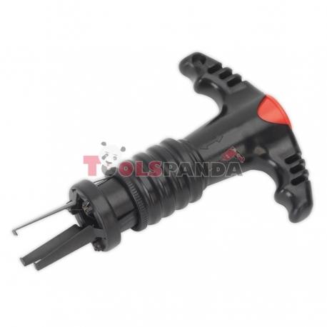 Уред за сваляне/поставяне на капачетата на болтовете на гумите, поема до 6 броя | SEALEY