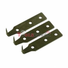 Ножчета за демонтиране на автомобилни стъкла 18мм. 3 броя к-т | SEALEY