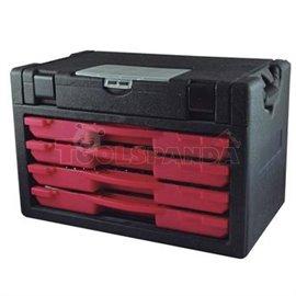 Куфарче/сандъче от 4 части с 96 инструмента