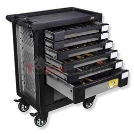 Оборудвана количка с 7 чекмеджета