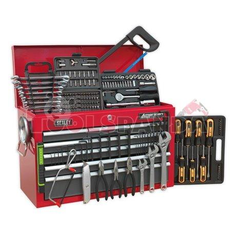 Сандък с 9 чекмеджета- 196 инструмента