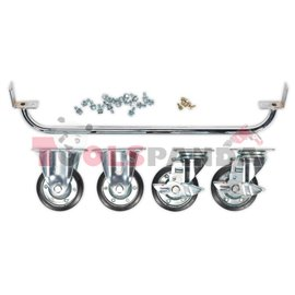 Комплект за количка за инструменти с кит за гуми / джанти