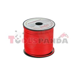 Кабел 1.5 мм. червен, 100 м пакет