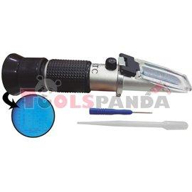 Рефрактометър- антифриз, електролит, течно