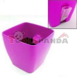 Саксия PVC SQ 0280 28x28 с нивомер
