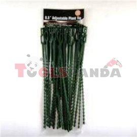 Връзки градински PVC 8.5 30бр. 0597 21 см.