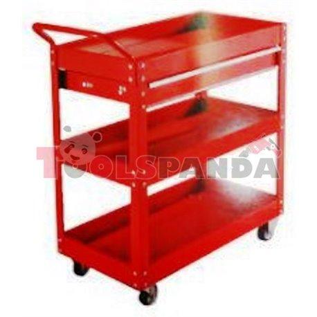 Шкаф за инструменти 3 секции + 1 чекмедже сервизен
