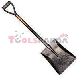 Лопата с метална дръжка обла 503