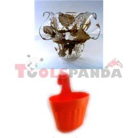 Саксия PVC FD 19 18.5x18.5x14.5