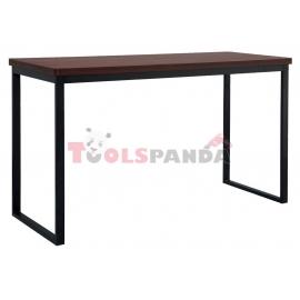 Бар маса правоъгълна 180x70x105см. метал/дърво