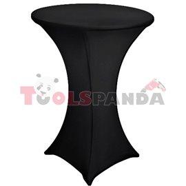 Еластант за коктейлна маса черен