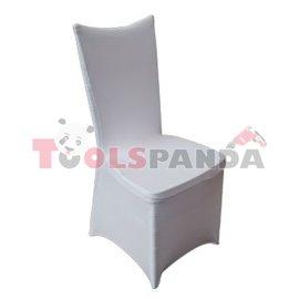 Калъф (еластант) за кетъринг стол бял