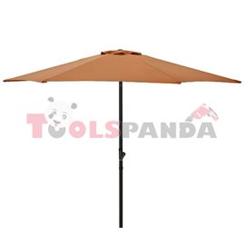 Чадър градински 2.5м. оранжев