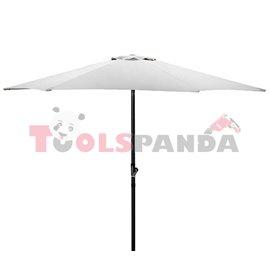 Чадър градински 2.7м. бял