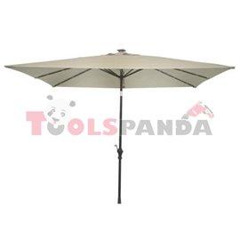Чадър квадратен 3x3м. бял