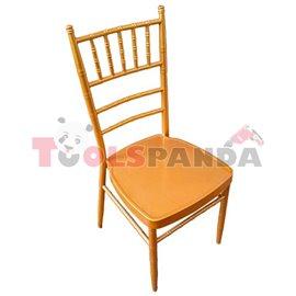 Кетъринг стол метален GOLD 39x41x92см.