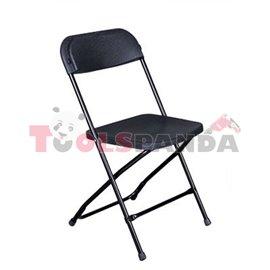 Кетъринг стол сгъваем класик черен