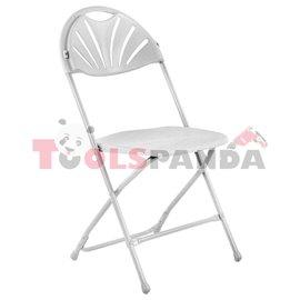 Кетъринг стол сгъваем бял